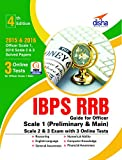 #3: IBPS RRB Guide for Officer Scale 1 (Preliminary & Main), 2 & 3 Exam with 3 Online Tests