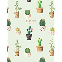Planner 2018-2019: Cactus Design | Jul 18 - Dec 19 | 18 Month Mid-Year Weekly View Planner Organizer with Motivational Quotes + To-Do Lists (Weekly View Planners)