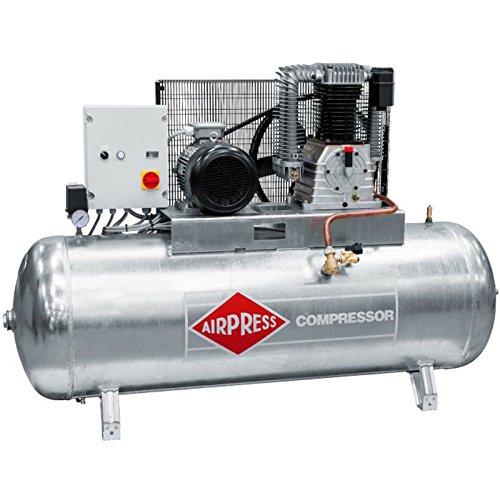 Airpress ölgeschmierter Druckluft-Kompressor GK1500-500 SD (7,5 kW,14 bar,500l Kessel, 400 Volt) Kolben-Kompressor