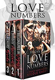 Love by Numbers Box Set 1: A Reverse Harem Romance: Books 1-3 (Love by Numbers Collection) (English Edition)