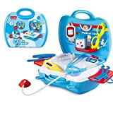 FunBlast Doctor Kit Toys For Kids, Doctor Kit Pretend Play Doctor Set Medical Carry Case Nurses Toy Set Fun Toy Gift Early Education For Kids