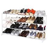 begorey 04/10 capas organizador de almacenamiento estante soporte de zapatos, 2 colores