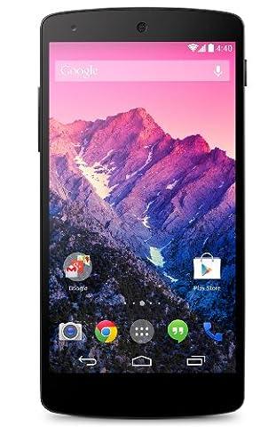 LG Nexus 5 Smartphone Débloqué 4G (Ecran: 5 pouces - 16Go - Micro SIM - Android 6.0) Black (Import Europe)