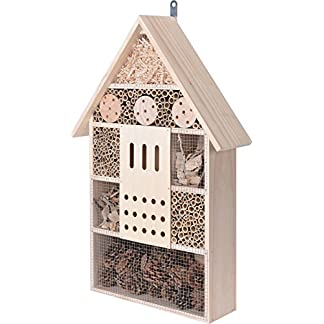 Elyte Retail Extra Extra Large Insect Hotel with 9 Compartments Ideal for Ladybirds, Bees, Butterflies, Lacewings and… 3