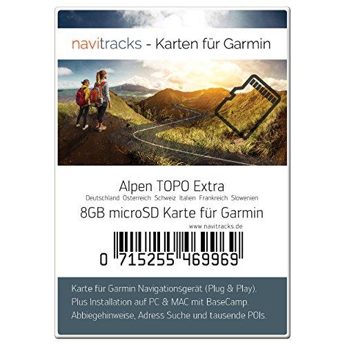 CH Geocaching BaseCamp Alpen GARMIN Navigation TOPO Karte 4GB microSD GPS D A