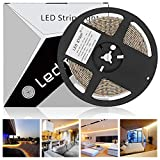 LEDMO led strip streifen band 5m warmweiss,IP65 wasserdicht led stripes SMD2835 600 leds 15LM/LED led lichtband CRI80,Haus Dekoration