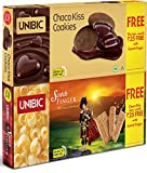 #1: Unibic Scotch Finger, 100g with Free Choco Kiss, 60g (Pack of 2)