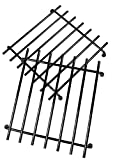 khevga Topf-Untersetzer Metall-Untersetzer 2er Set Möbelschonend Silber