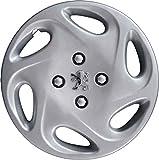 Radzierblenden, Durchmesser: 35,5 cm (14Zoll) mit verchromtem Logo, 4 Stück