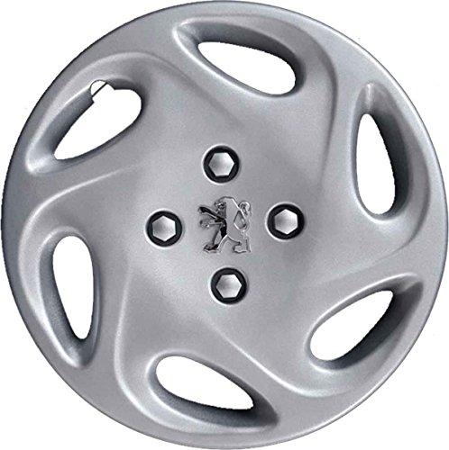 Radzierblenden, Durchmesser: 35,5 cm (14 Zoll) mit verchromtem Logo,