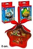 3palle di Natale Disney Toy Story stelle 8cm