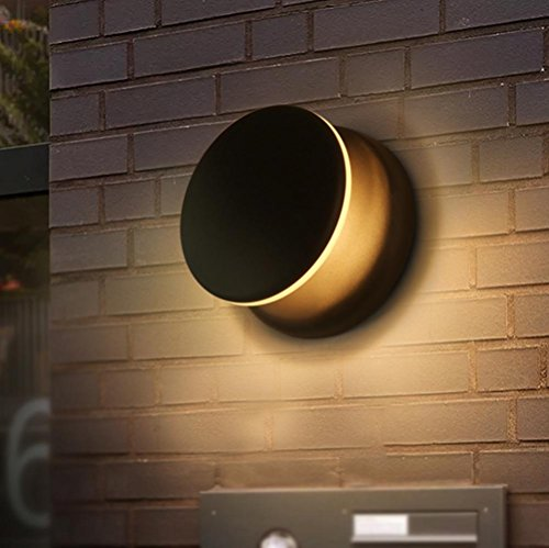 Wandleuchten -Wandleuchte LED, Seeksung Nachttischlampen, kreative moderne Nachtlicht, einfache Gang Wohnzimmer Wandleuchte (Größe: Breite 15cm * Höhe 8cm) Rotation Warm Light 5W , B