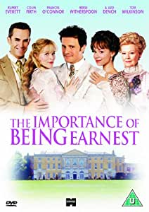 The Importance of Being Earnest [Import anglais]