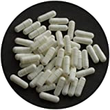 The Alchemists Apothecary Empty Gelatine Capsules White Size 0 Pack of 200
