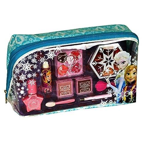 Disney Frozen Kosmetiktäschchen mit Reißverschluss (Schminktasche mit Beauty-Produkten für Augen