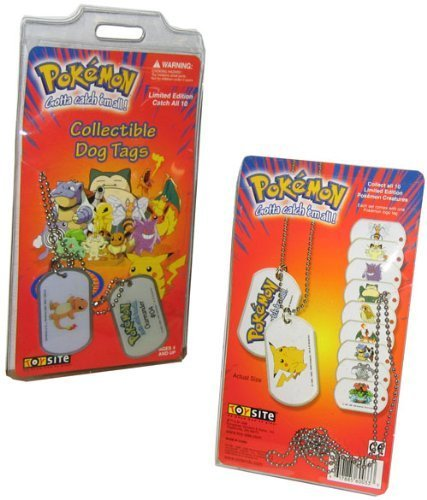 Image of Pokemon Toys - Dog Tags (Misc Character)