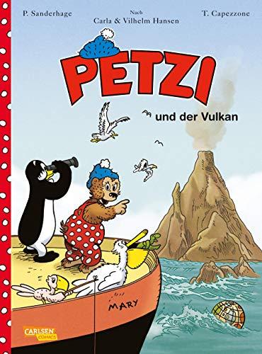 Petzi - Der Comic 1: Petzi und der Vulkan