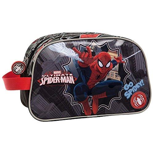 MARVEL Trousse de Toilette Adaptable Spiderman Vanity, 26 cm, Multicolore