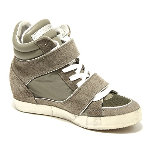 61831 Baskets Femme Vert Philippe Model Piaf Chaussures Chaussures Femme Green Military