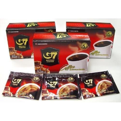 G7 Black Instant Coffee, 3-pack, 45 Servings by Heirloom Coffee LLC