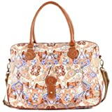 Oilily Summer Mosaic Carry All - Fig