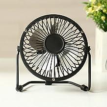 CivilWeaEU Ventilatore USB / piccolo ventilatore / ventilatore grande / mini ventilatore / ventilatore silenzioso / ventilatore ( Colore : Nero )