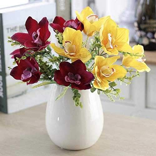 Niya Soft Touch Kranz Gefälschte Blume Für Hochzeit Dekoration Zubehör Zufällige Farbe 5 stücke -