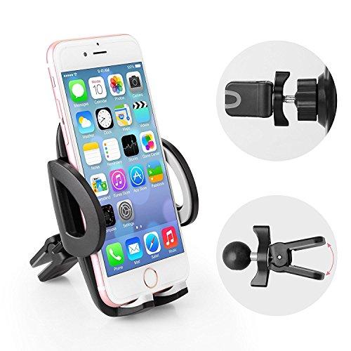 Avolare Handyhalterung Auto Halter Lüftung Phone Halter 360 Grad Drehung für Phone, Samsung, Huawei, LG und Mehr