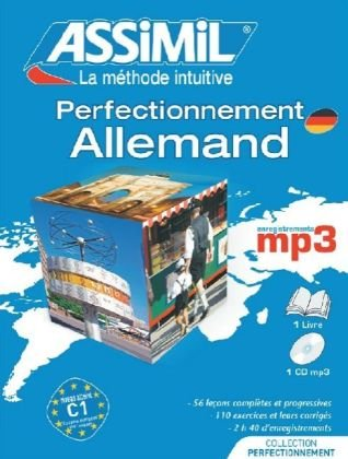 Pack MP3 Perfectionnement Allemand (Livre + CD MP3)
