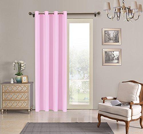 Tenda semi-translucida con 8ollao di 140x 260per soggiorno, camera e camera. modello oxford 140_x_260_cm rosa