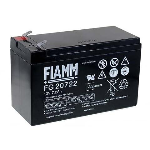 FIAMM replacement battery for USV APC RBC12, 12V, Lead-Acid