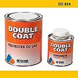 De IJssel Double Coat 2K Bootslack - Farbe sommergelb/DC 814-1 kg Set - (2K Lack, Yachtlack, Decklack) Sommer Gelb