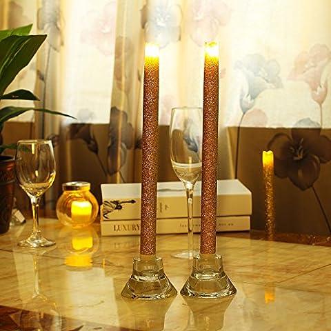 dfl con candele a batteria flameless vera cera sciolta led