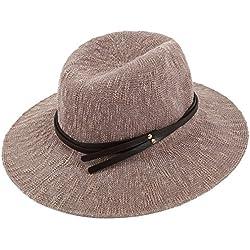 Grandes aleros sombrero/sombrero de playa plegable/gorra/sombrero del cubo de la manera-C un tamaño