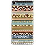 Prevoa ® 丨 Huawei P6 Funda - Colorful Silicona TPU Cover Case para Huawei Ascend P6 4.7 Pulgadas Smartphone - 18