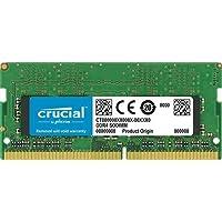 Crucial CT8G4SFS8266 8 GB (DDR4, 2666 MT/s, PC4-21300, Single Rank x8, SODIMM, 260-Pin) Memory