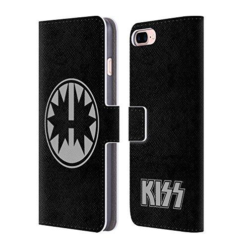 Ufficiale KISS Army Logo Cover a portafoglio in pelle per Apple iPhone 4 / 4S Ace Frehley