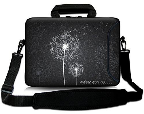 Sidorenko 17-17,3 Zoll Laptoptasche | Laptop Umhängetasche: Stilvolle - Computer - Notebook-Schultertasche aus Neopren Schmutz- und Wasserabweisend | Notebook-Tasche mit Außentasche für Zubehör