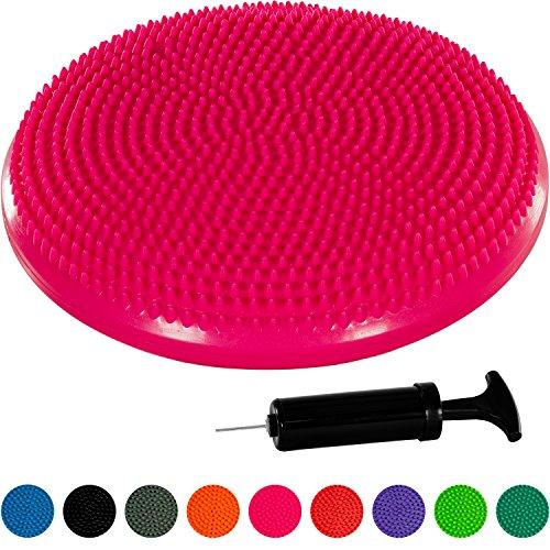 Movit Ballsitzkissen »Dynamic SEAT« inkl. Pumpe, schadstoffgeprüft und phthalatfrei, 33 cm, pink