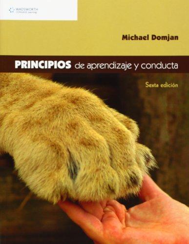 Principios de aprendizaje y conducta por Michael Domjan