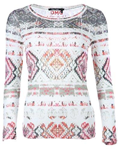 Marc Aurel Damen Shirt Bunt
