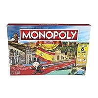 Parcourez tout un pays et obtenez vos lieux et villes les plus reconnaissables! Avec le nouveau Monopoly Spain ! Une nouvelle version du célèbre jeu de société de propriétés est arrivée. Préparez-vous à parcourir le pays et à vous arrêter dans des vi...