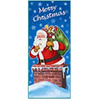 Christmas Party Door Poster / Banner - Santa /Night Before Christmas