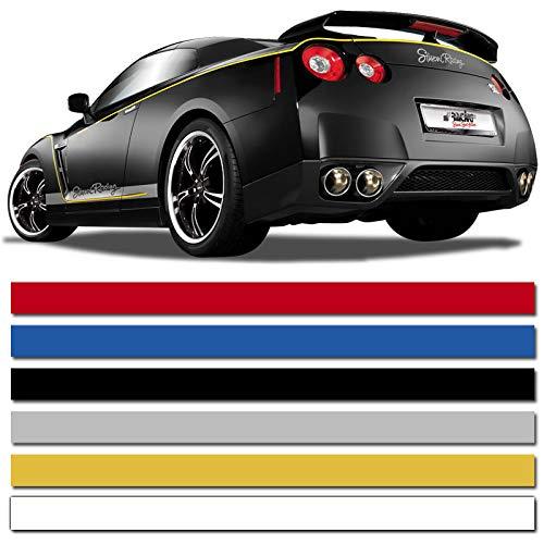 Dynamik A2-3202 Universelle Selbstklebende Pin-Stripe AutoStripe Cool200-Weiß-6 mm x 975 cm (Auto-striping-tape)