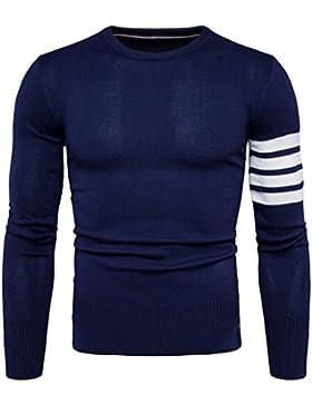 Il tessuto a maglia Maglioni uomini autunno casual Sau collo butt-set testa, Navy ,XL