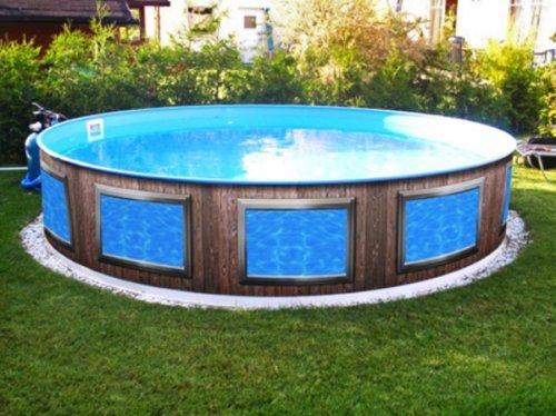 pool-design.eu Verkleidung Pool * Aufkleber Außenwand * Swimmingpool Dekoration Außen * Designbecken * Fenster A1 * Höhe: 90 cm