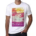 Bordighera, Escape to paradise, Herren T-shirt, t shirt herren, tshirts männer, 100% Baumwolle, Größen XS, S, M, L, XL, 2XL, 3XL. Wir respektieren die umwelt!Die t-shirts sind erstellt aus ökologischen und lösemittelfreien Wasser Tinte, welches keine...