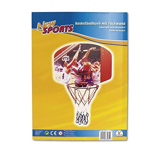 New Sports 63082  86090/E030A - Basketballboard, Länge 60 x B 45 cm, 35 cm Durchmesser