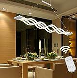 LIUSUN LIULU Luz colgante moderna del LED, lámparas del