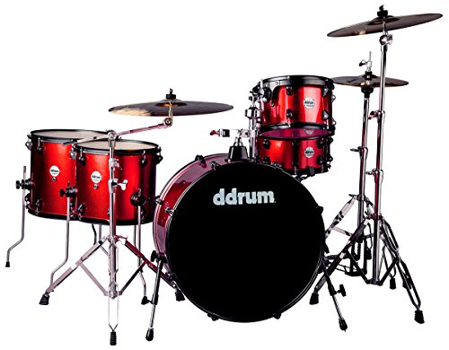 Ddrum J2R 524 RSP Stück Drum Set, Red Sparkle